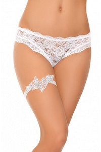 Asalteia garter white, CF 12, Cofashion