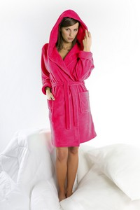 Dorota women's dressing-gown fr-006 bathrobe