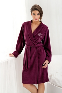 Dorota women's dressing-gown fr-107 big bathrobe