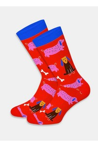 Skarpety dots socks dts cats & dogs