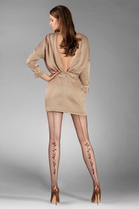 Gabriella poem code 384 tights - patterned tights - wzorzyste