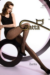 Gatta Zarita 01 tights - patterned