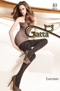 Gatta Lorenne 07 tights - patterned