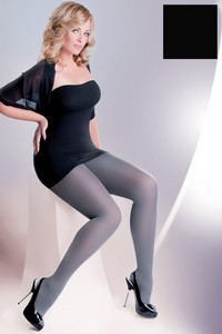Microfibre Plus Size tights women's 60 DEN, code 162, Gabriella