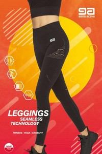 LEGGINGS FITNES GA, Gatta Active