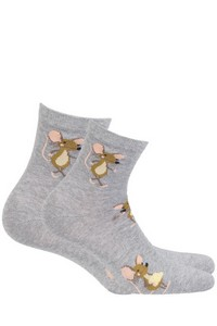 Woman socks patterned women's, Gatta Cottoline