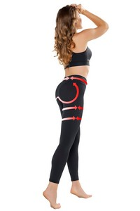 Push-up leggins Anti Cellulite klasyczne, Gwinner