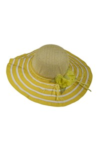 003 summer hat żółty 867