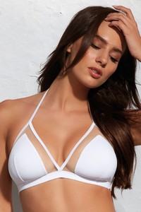 Krisline Beach bra bathing bustier soft white