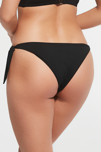 Krisline Beach strshortbrasil black string shorts bathing black
