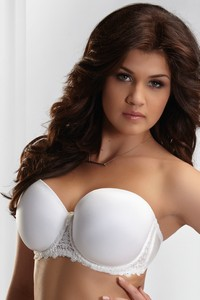 Krisline Betty bra balkonette milk
