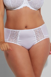 Krisline Betty briefs midi white