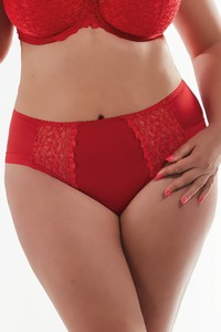Krisline Betty briefs midi red