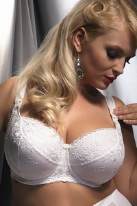 Krisline Brillant white bra nursing