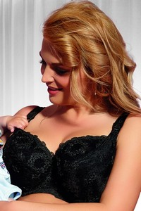 Krisline Fortuna bra nursing black