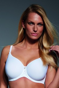 Fortuna spacer bra padded white, Krisline