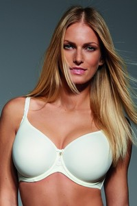 Fortuna spacer bra padded ecru, Krisline