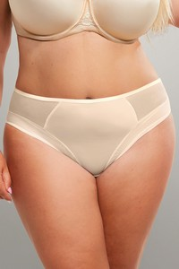 Krisline Fortunacomfort briefsmidlig coffe briefs midi beige