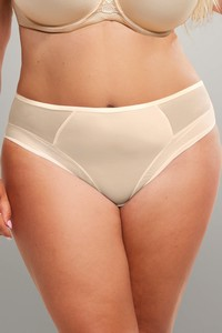 Fortuna comfort briefs midi light beżowe, Krisline