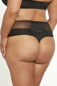 Fortuna comfort thongs midi light black, Krisline