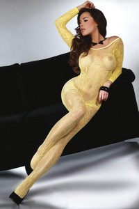 Livia Corsetti Abra yellow lc 17086 bodystocking