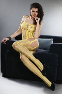 Livia Corsetti Almas yellow lc 17132 bodystocking