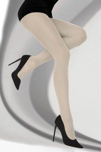 Marcela tights smooth 40 den linen, Livia Corsetti