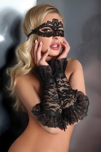 Livia Corsetti Mask black model 5 lc 13005