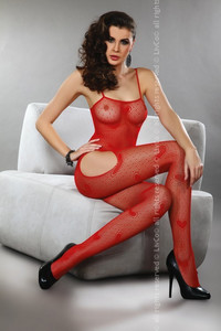 Livia Corsetti Titania red lc 17106 bodystocking