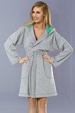 L&l lady dressing gown Marika - bathrobes