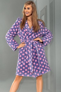 L&l lady short dressing gown Milla - bathrobes