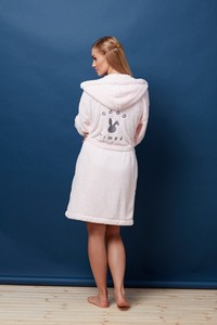 L&l lady short dressing gown GT 7109 - bathrobes