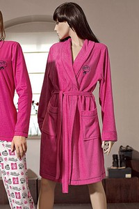 L&l lady short dressing gown Marilyn - bathrobes