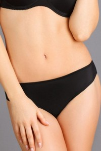 Panties thongs women's black, 106, Lupoline