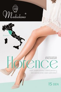 Florence womens tights 15 den, Mediolano
