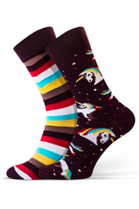 Socks casual women mismatched, Sesto Senso
