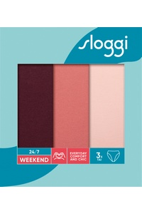 Weekend tai panties briefs women's 3PAK, 24/7, Sloggi