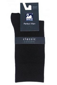 Perfect man socks men's smooth for a suit, Wola